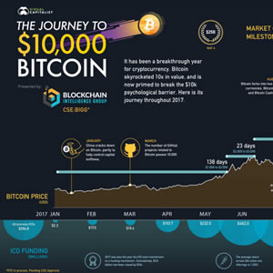 Infographic - The Journey to $10,000 Bitcoin